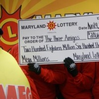 Mega Millions record-breaking jackpot winners cash in