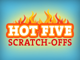 Hot Five Scratch-Offs