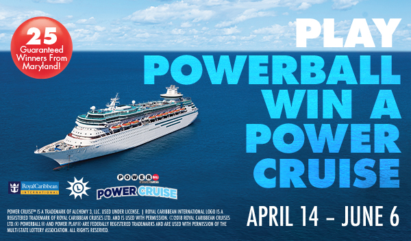Power CruiseTM Promotion Offers PowerballR Players Chance To Win Exclusive Cruise Winners Announced