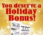 Pick3Pick4_HolidayBonusBucks_Thumb_150x120