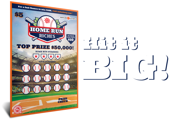 Home Run Riches – Maryland Lottery